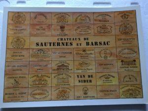 Chateaux de Sauternes et Barsac