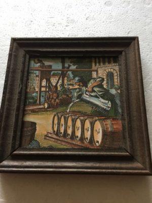 Tegel Wijnvaten vullen