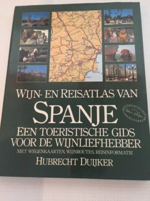 Wijn -en reisatlas Spanje