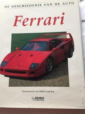 De geschiedenis van de auto Ferrari