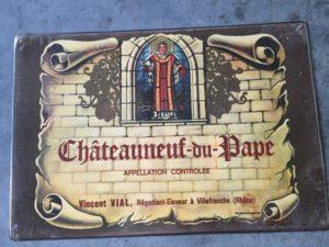 Placemat Chateauneuf-du-Pape