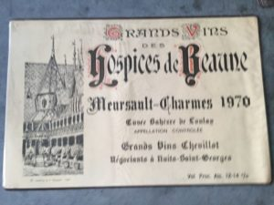 Placemat Hospices de Beaune