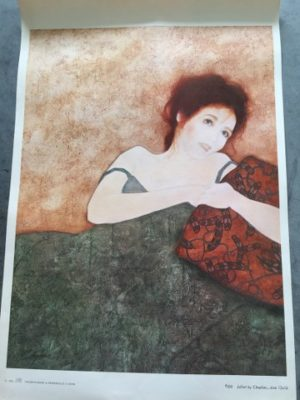 Reproductie Juliet by Chaplan