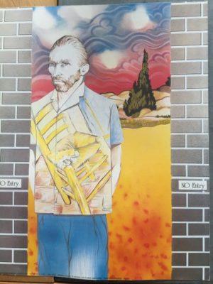 Reproductie The artist Shirt -Van Gogh
