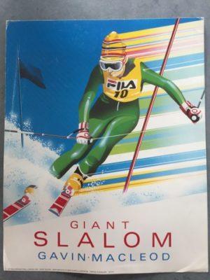 Reproductie Giant Slalom. Gavin Macleod