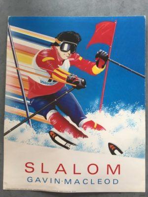 Reproductie Slalom. Gavin Macleod
