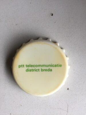 Flesopener in kroondop vorm PTT