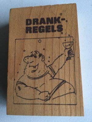 Houten uitklapbare Drankregels